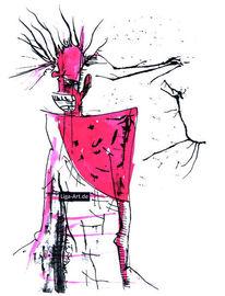 Tuschmalerei, Zeichnung, Zeichnungen,