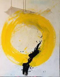 Modern art, Gelb, Malerei, Farben