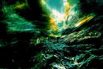 Strömung, Licht, Welle, Fluss
