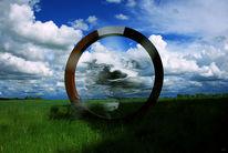 Bewegung, Wolken, Pflanzen, Ring