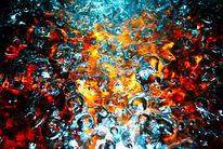 Wasser, Metall, Sprudel, Blase