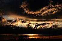 Baum, Sonne, Himmel, Wolken