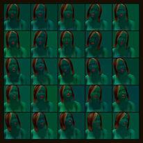 Gesicht, Farben, Portrait, Menschen