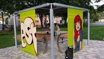 Graffiti, Fotografie, Einblick, 2014
