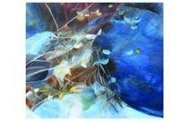 Spiegelung, Ölmalerei, Eintauchen, Universum