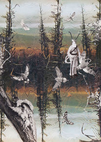 Waldsterben, Surreal, Mythe, Fichte