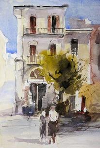 Luft, Italien, Abruzzen, Plein