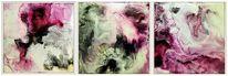 Pigmente, Bienenwachs, Chaos, Malerei