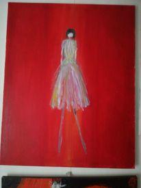 Rot, Ölmalerei, Malerei, Acrylfarben