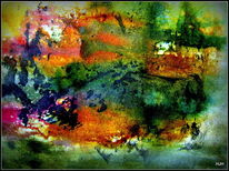 Malerei, Herbstlandschaft
