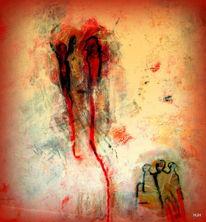 Figur, Lied, Rot, Malerei