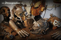 Mad max, Steampunk, Helm, Cosplay