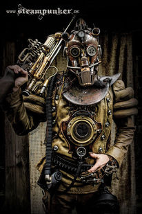 Steampunk, Requisite, Kleidung, Mode