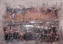 Erinnerung, Elemente, Abstrakte landschaft, Modern