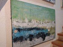Moderne malerei, Gelb, Malerei, Schwarz