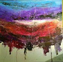 Abstrakt, Blau, Expressionismus, Elemente