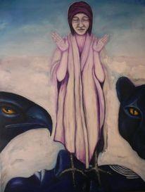 Spirituell, Krähenfuß, Hüterin, Frage