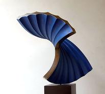 Dynamik, Entfaltung, Bewegung, Skulptur