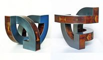 Ausdehnung, Stahl, Holz, Konstruktion