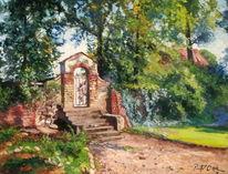 Löhme, Sommer, Tor, Kirche