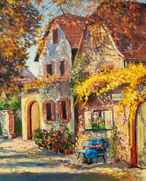 Prowinz, Herbst, Malerei