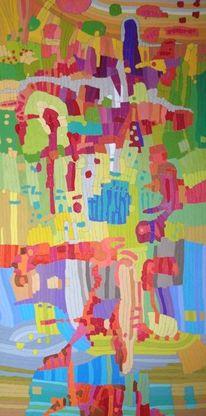 Abstrakt, Entropica, Ölmalerei, Expressionismus