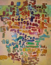 Panel, Abstrakt, Ölmalerei, Malerei
