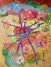 Abstrakt, Expressionismus, Panel, Ölmalerei