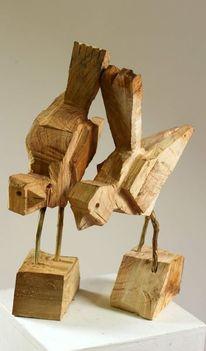 Figurative kunst, Design, Skulptur, Holz