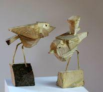 Skulptur, Natur, Dekoration, Vogel