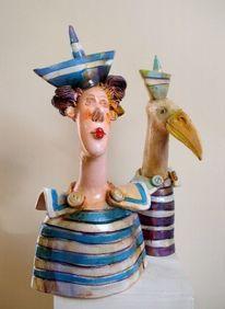 Keramik, Portrait, Skulptur, Design