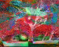 Spielerei, Albtraum, Digitale kunst, Augenblick