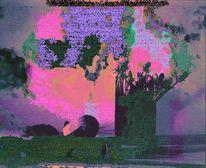 Farbspiel, Digitale spielerei, Erwachen, Digitale kunst
