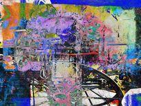 Kutsche, Fantasie, Digitalkunst, Digitale bearbeitung