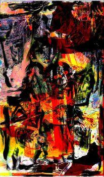 Zerstörung, Stimmungsvoll, Albtraum, Digitale kunst