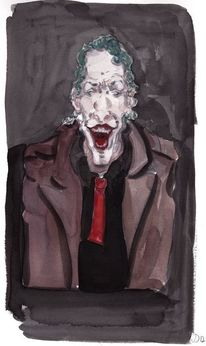 Joker, Clown, Böse, Illustrationen