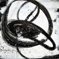 Acrylmalerei, Abstrakt, Einzelstück, Leben