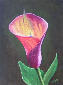 Blätter, Pflanzen, Malerei,