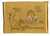 Ablehnung, Mann, Zeichnungen,