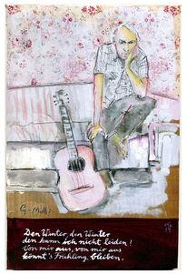 Musiker, Gitarre, Lied, Harry schlüther