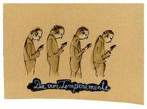 Handy, Charakter, Temperament, Zeichnungen