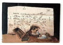 Dichter, Blätter, Zeichnungen, Sagen