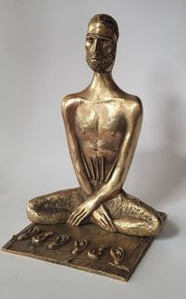 Bronze, Van gogh, Skulptur, Plastik
