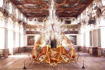 Schloss, Gold, Licht, Fotografie