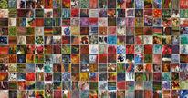 Acrylmalerei, Meisterwerk, Abstrakt, Supernova