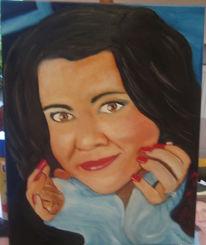 Ölmalerei, Frau, Malerei, Menschen