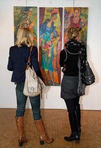 Ausstellung, Figur, Drei werke, Osnabrück