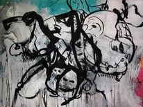 Acrylmalerei, Abstrakt, Selten, Malerei