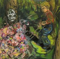 Geschichte, Kinder, Malerei, Graf