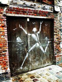 Prayforparis, Graffiti, Frankreich, Fotografie